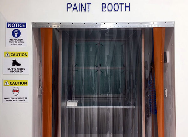 Chariot Aerospace - M.R.O. Paint Booth