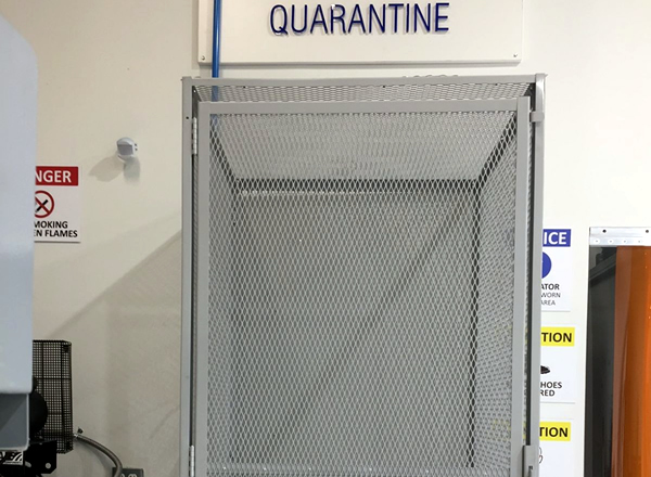 Chariot Aerospace - M.R.O. Quarantine Area