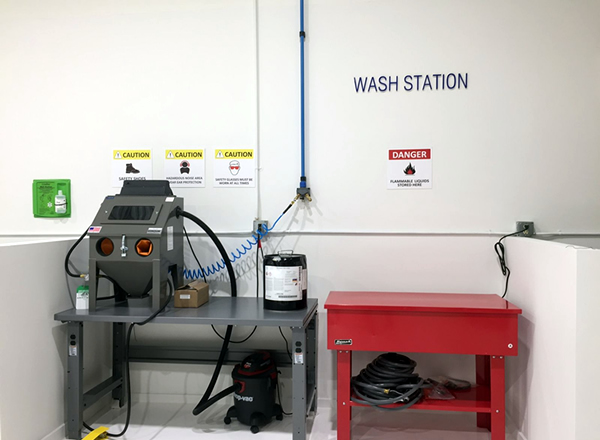 Chariot Aerospace - M.R.O. Wash Station